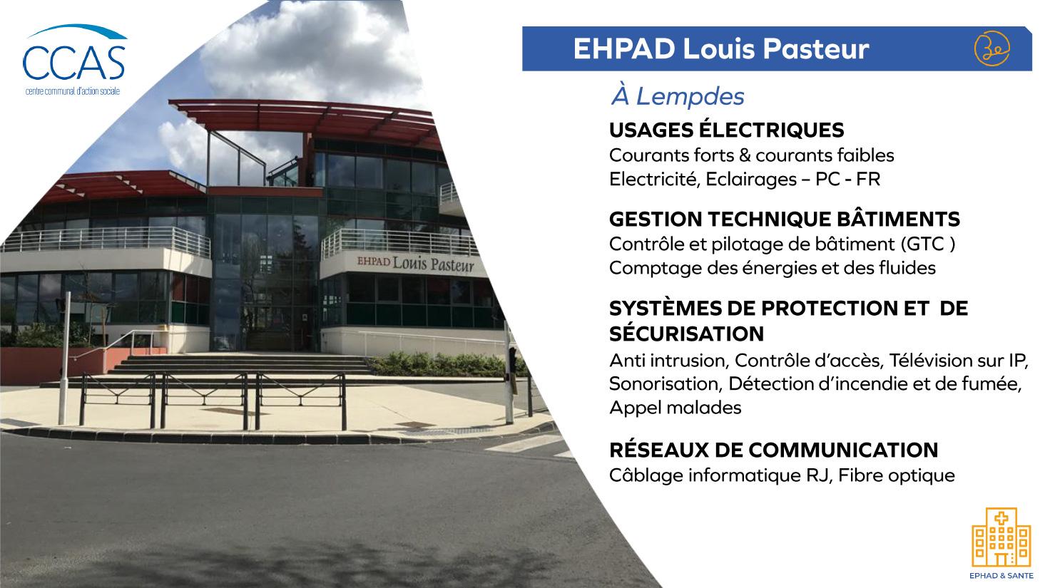 Ephad Louis Pasteur - Ephad et Santé