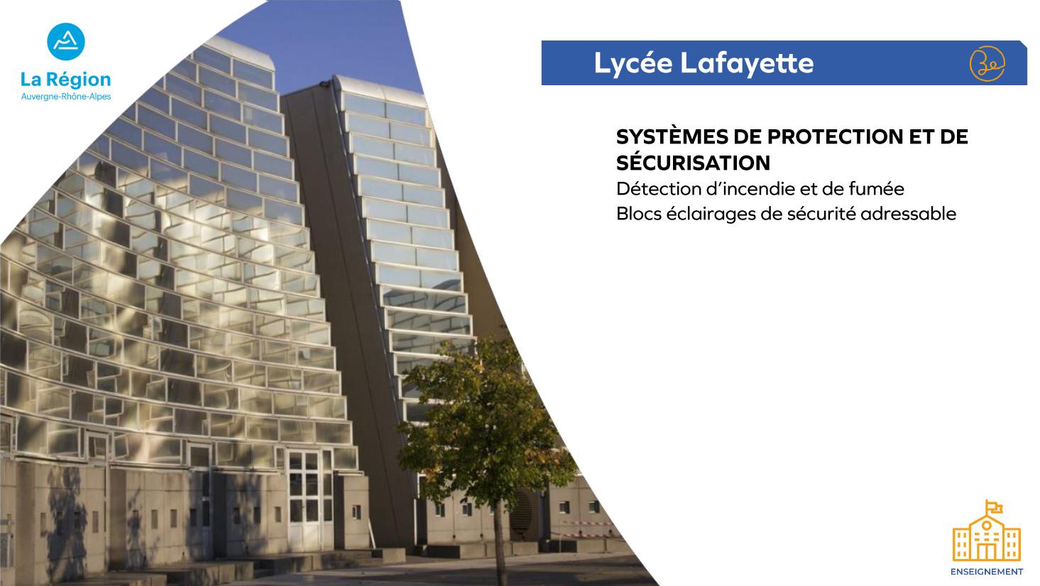 Lycée Lafayette - Enseignement