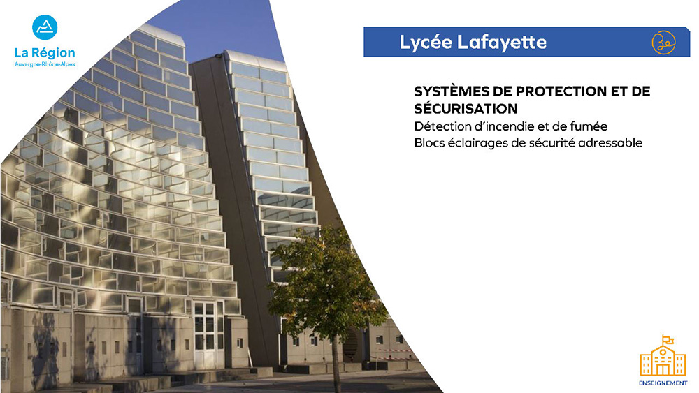 Région Auvergne-Rhône-Alpes - Lycée Lafayette