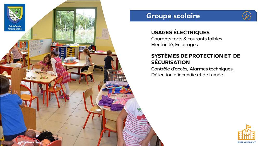 Groupe scolaire Saint Genès Champanelle