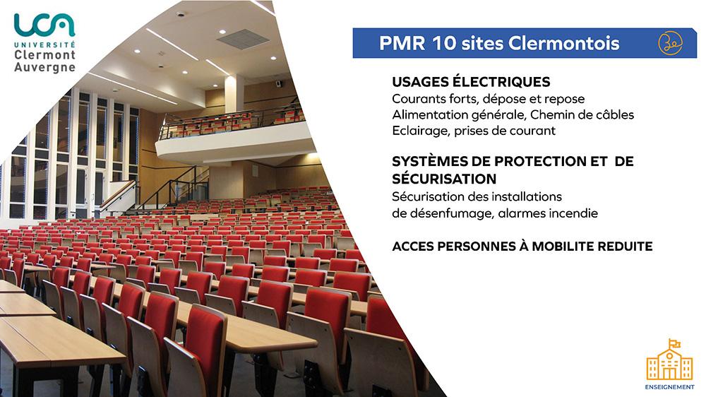 UCA - PMR 10 sites Clermontois