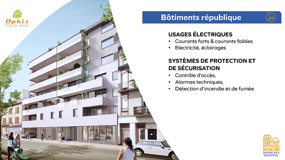 Ophis - Bâtiments république