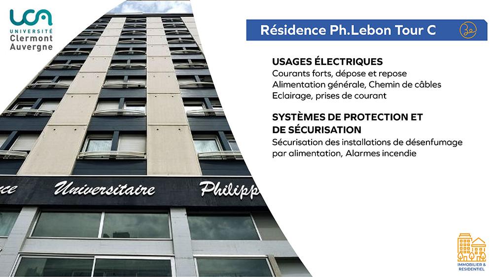 UCA - Résidence Philippe Lebon Tour C