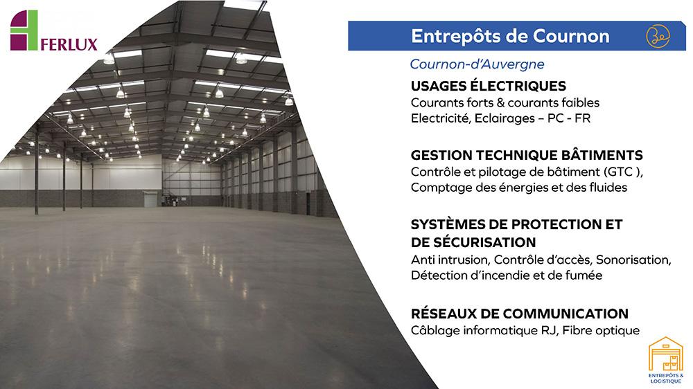 Ferlux - Entrepôts de Cournon