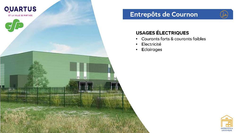 Quartus - Entrepôts de Cournon