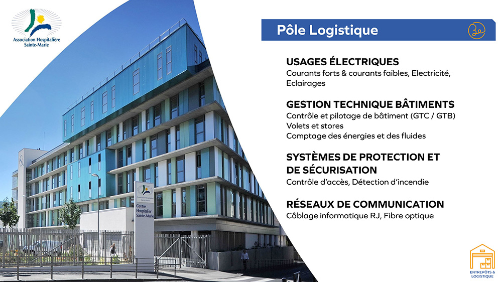 Association Hospitalière Sainte Marie - Pôle logistique