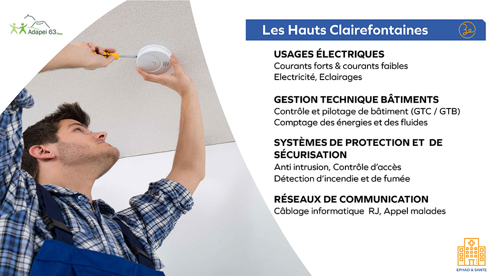 Adapei63 les Hauts Clairefontaines