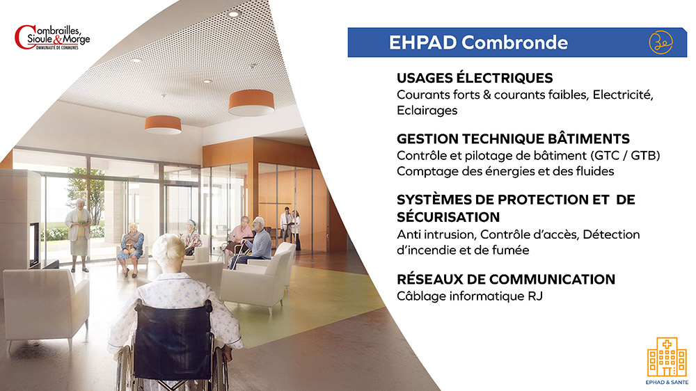 Combrailles, Sioule & Morge - EHPAD Combronde