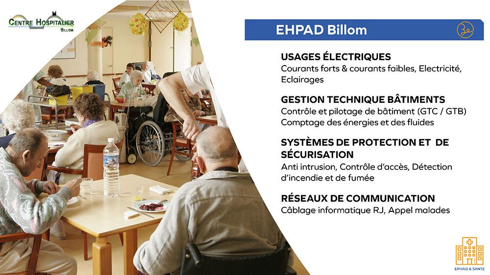 Centre Hospitalier - EHPAD Billom