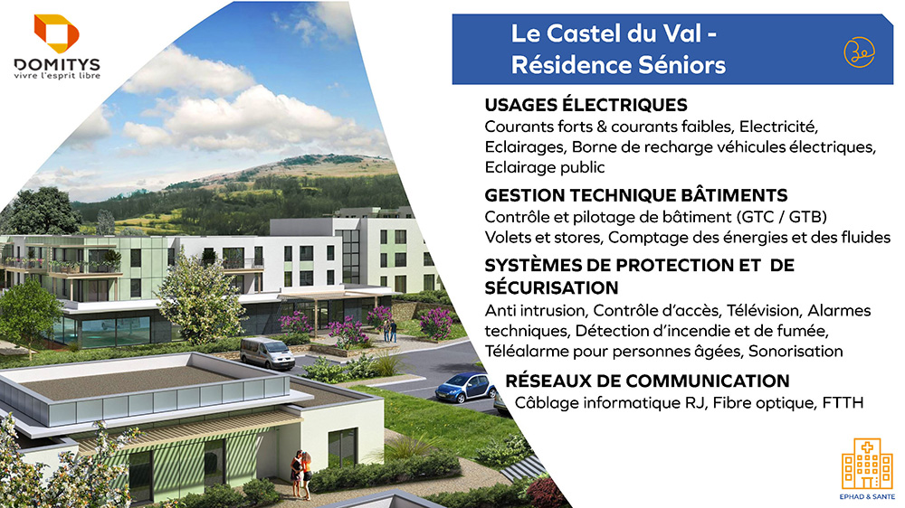 Domitys - Le Castel du Val - Résidence Séniors