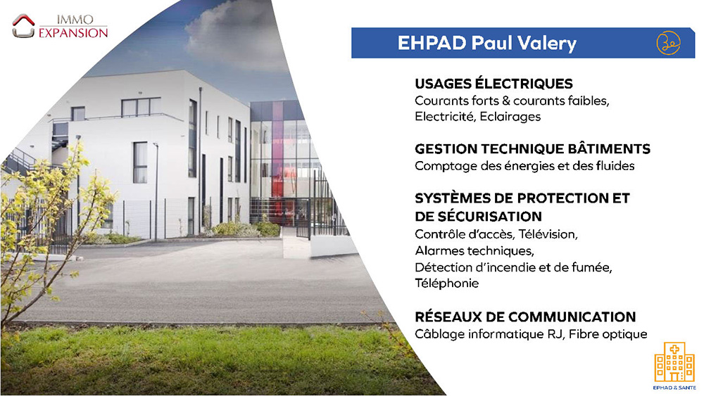 ImmoExpansion - EHPAD Paul Valery