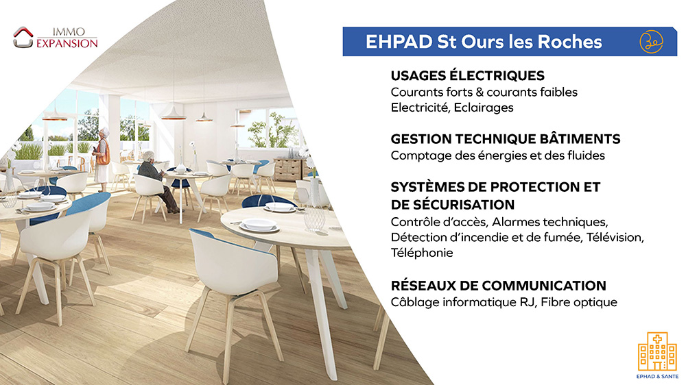 Immo Expansion - EHPAD Saint Ours les Roches