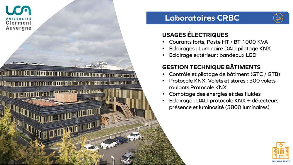 UCA Laboratoires CRBC