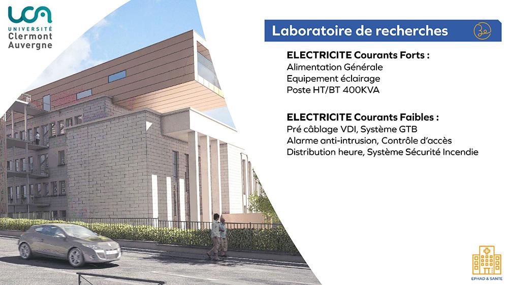 UCA - Laboratoire de recherches