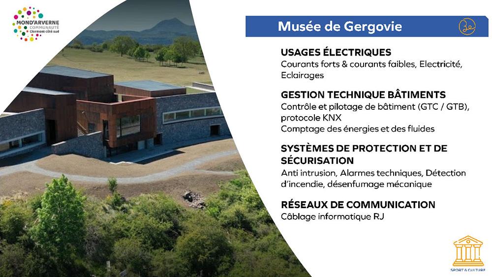 Mond'Arverne Communauté Clermont Côté Sud - Musée Gergovie