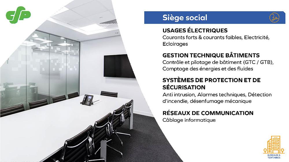 CFP - Siege social