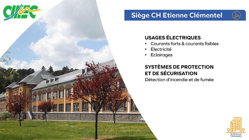 CH Etienne Clémentel - Siège