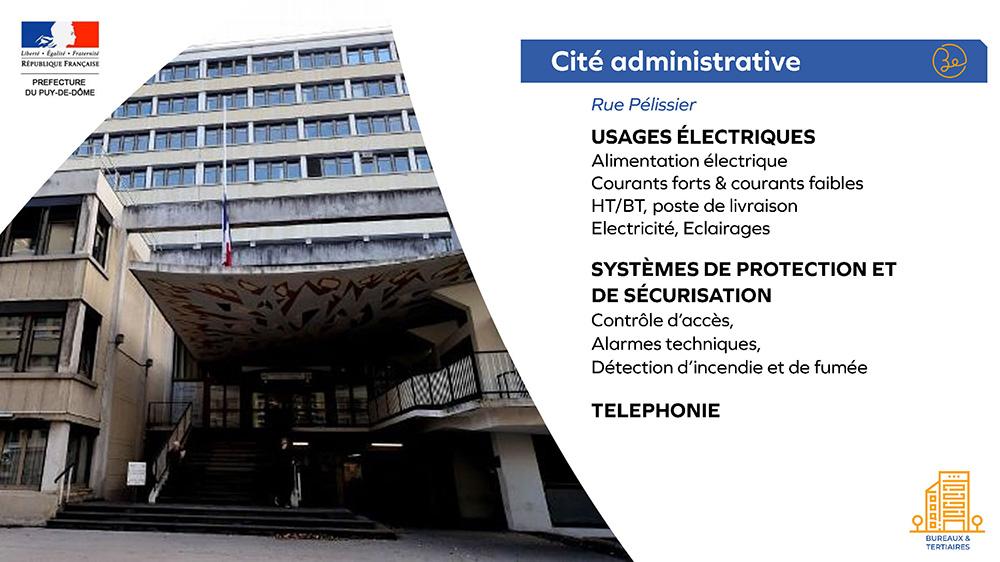 Prefecture du Puy-de-dôme - Cité Administrative
