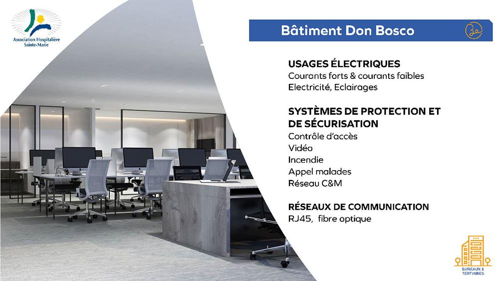 Association Hospitamlière Sainte Marie - Bâtiment Don Bosco